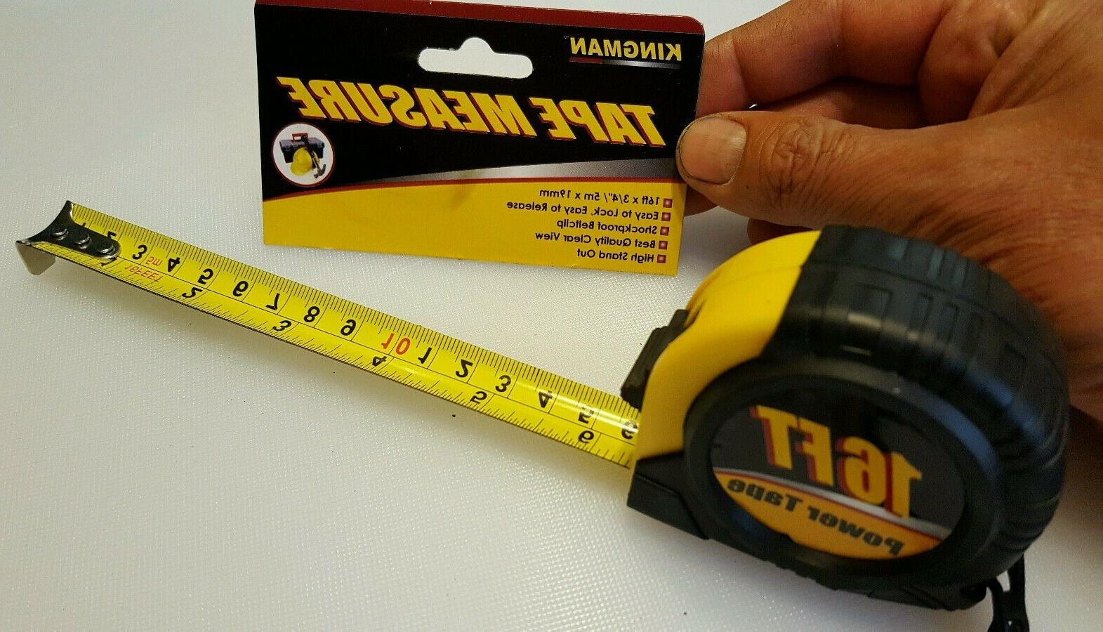 measuring tape 16 ft x 3 4