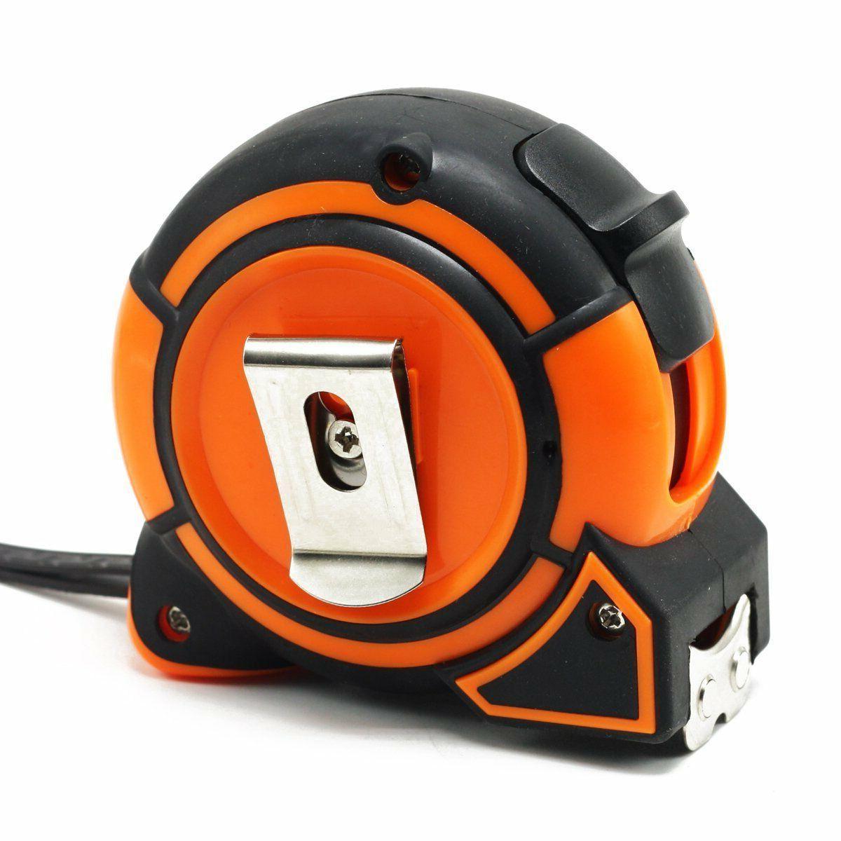 NEW Orange Tape Measure 1-Inch x 25-Foot Retractable Heavy Duty