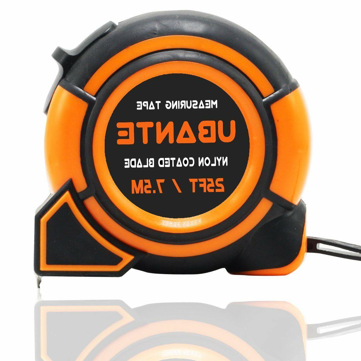 new orange measuring tape measure 1 inch