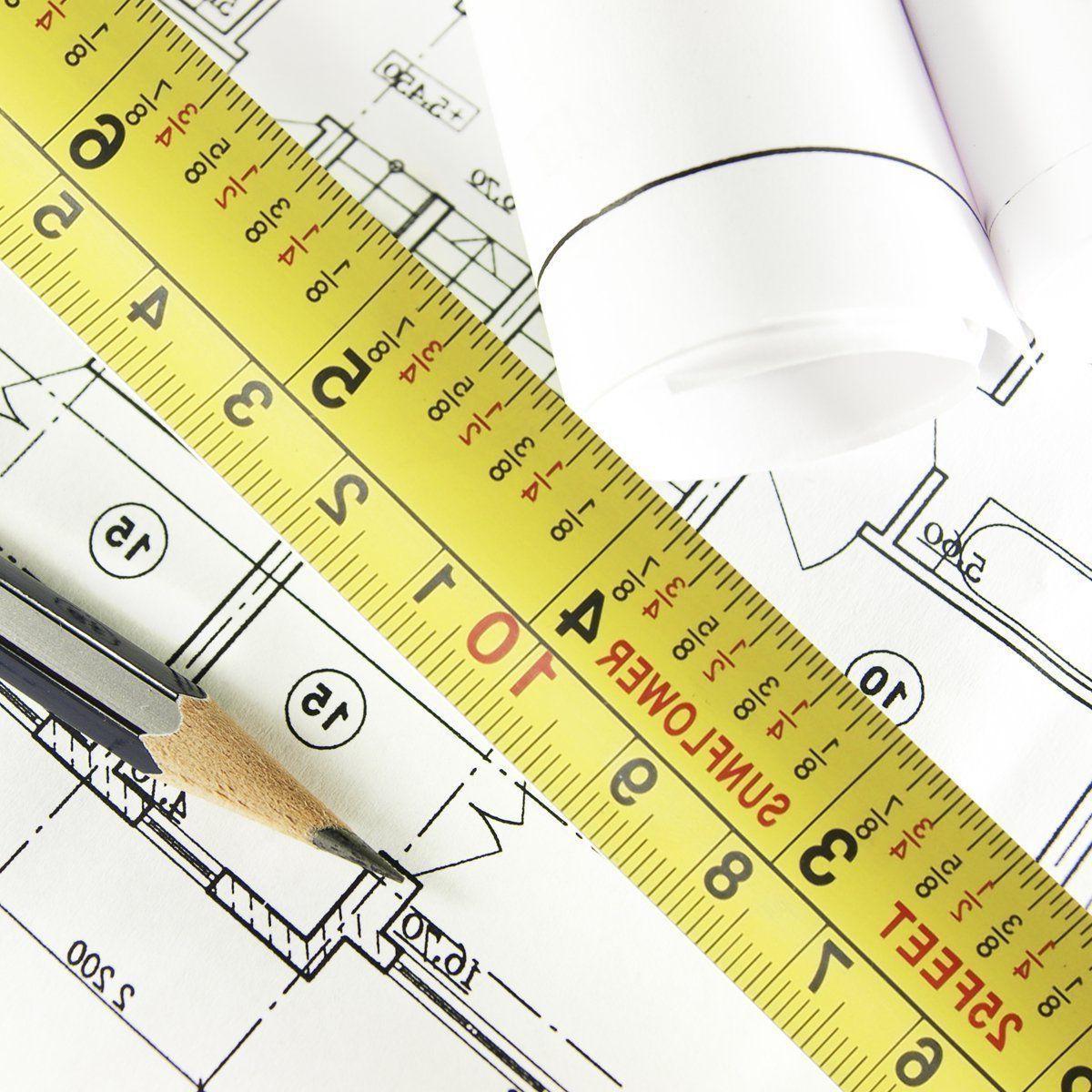 NEW Measuring Tape x 25-Foot Heavy Duty
