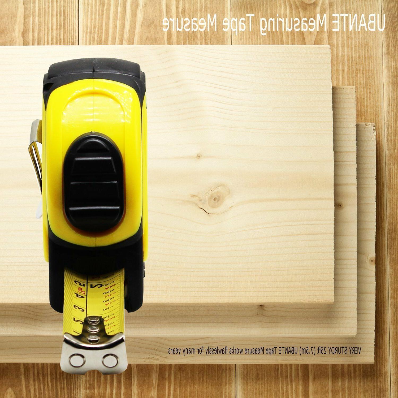 NEW UBANTE Yellow 25-Foot Retractable