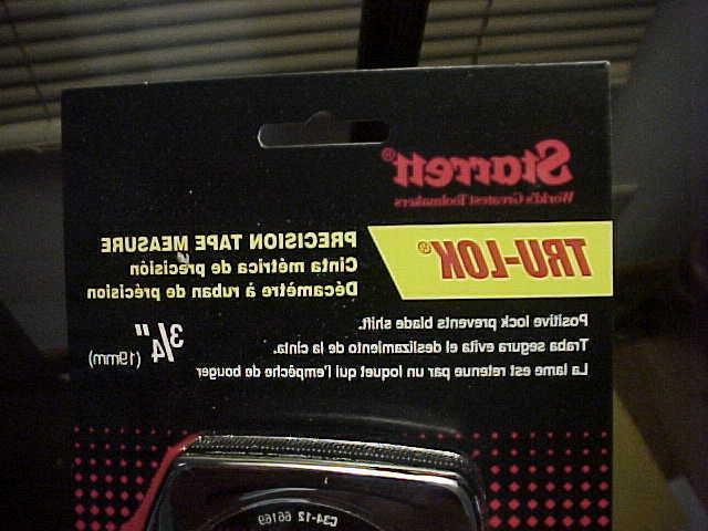 NOS Starrett C34-12 Tru-Lok 12' x Metal Precision USA