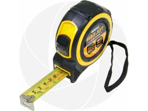 Tolsen 10M 33FT Nylon Coated Heavy Duty Measure Measuring Ta