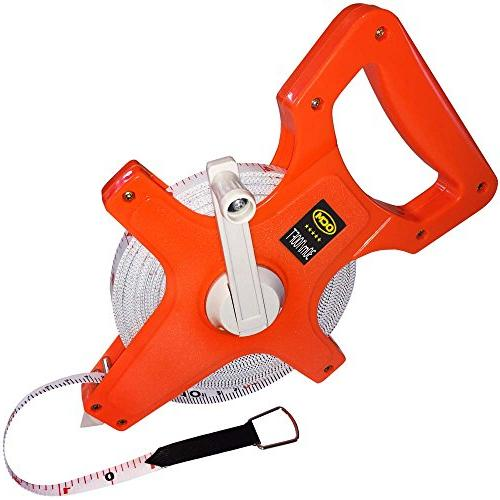 open reel fiberglass tape measure