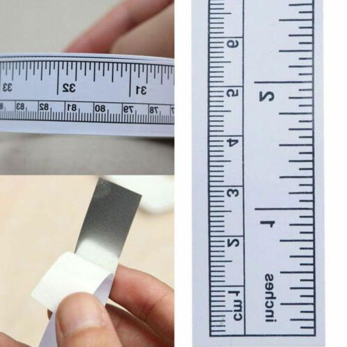 Rulers Sticker Machine Silver Sewing Adhesive Tape