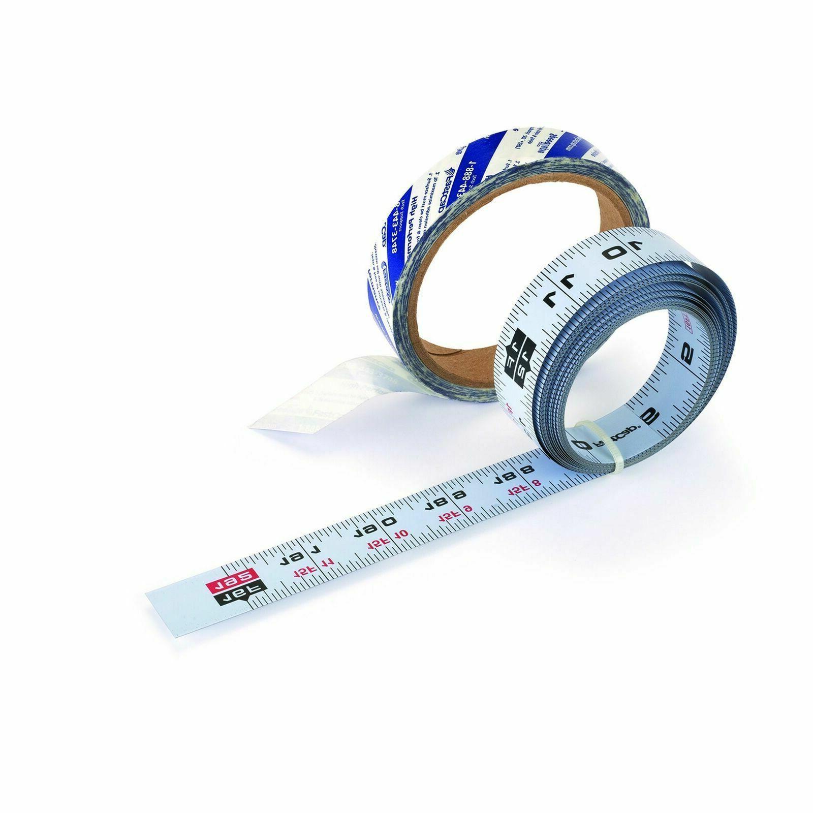 self adhesive measuring tape reversible