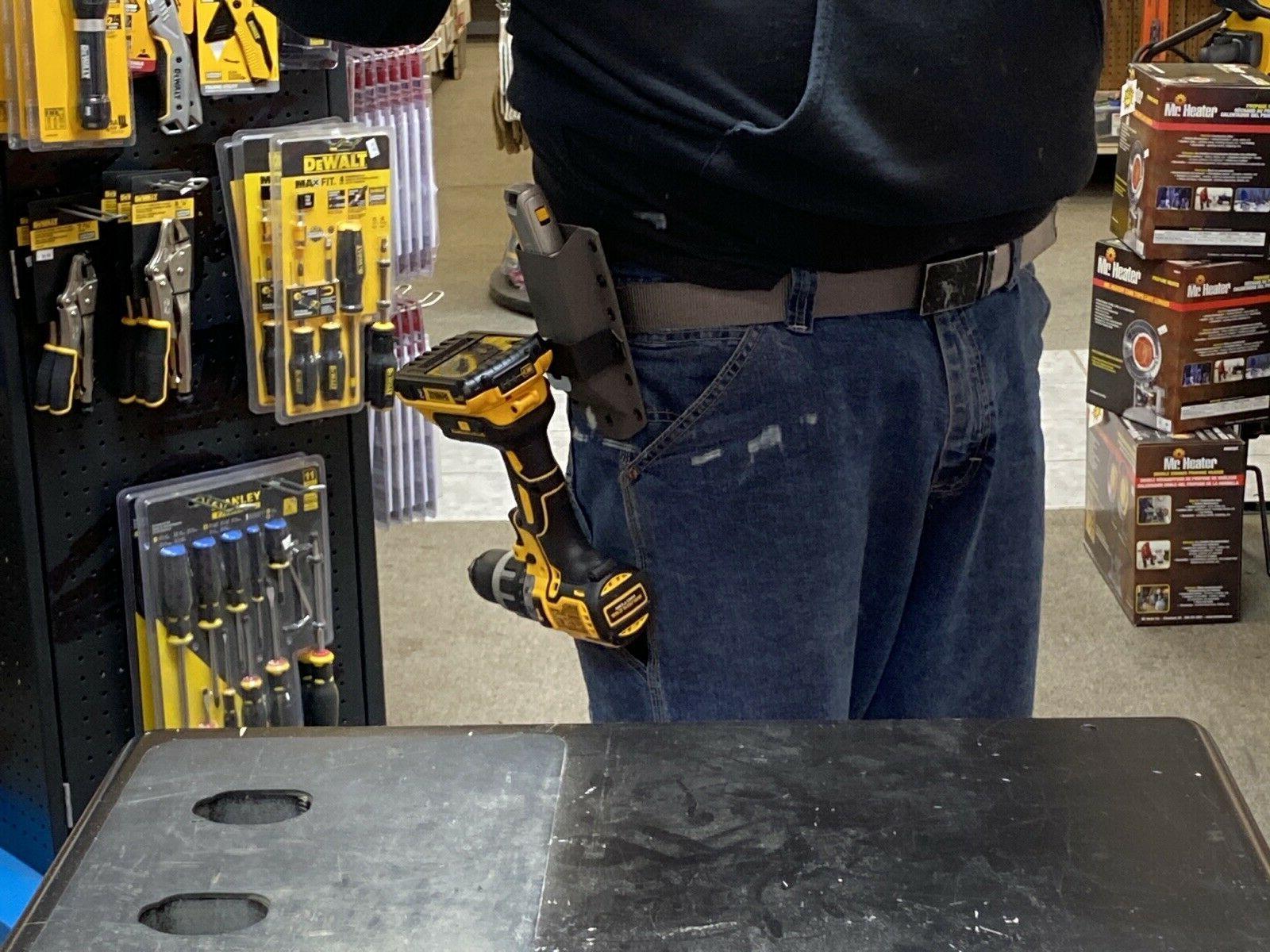 Tape Holder DeWALT Cordless holds Knife & MORE!