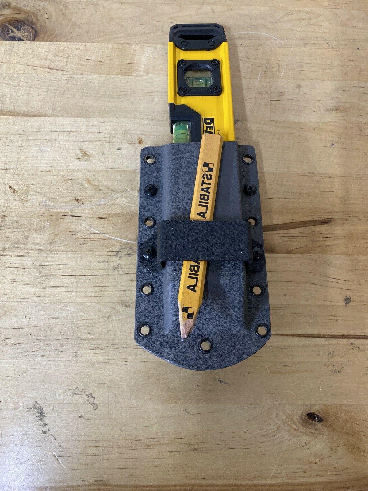 Tape Measure Holder DeWALT Cordless Strap, holds MORE!
