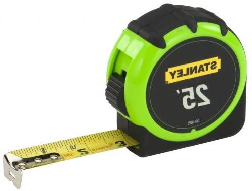 "6 Pack Stanley 30-495 16' x 3/4"" High-Visibility Tape Measur"