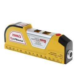 Laser Level Horizontal Vertical Line Measure Measuring Tape