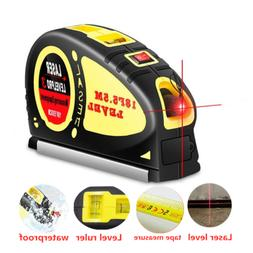 Laser Level Wire Infrared Line Laser Tape Measure Meter Hori