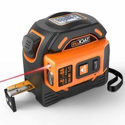 Laser Tape Measure 2-in-1, Laser Measure 131 Ft, Tape Measur