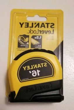Stanley Tools Lever Lock 16' Tape Measure - STHT30812