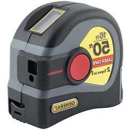 Linear Measurement LTM1 2-in-1 Laser Tape Measure, 50 16