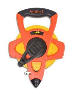 Lufkin FM050CM Metric 13mm x 50m Hi-Viz Orange Fiberglass Ta