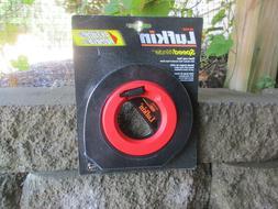 """Lufkin HYT100D 3/8"""" x 100' Engineer's Hi-Viz Orange Speedwin"""