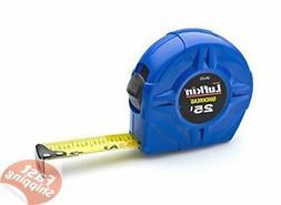 Lufkin QRL625MP Quickread Hi-Viz Value Tape Measure, 1-Inch