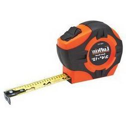 "Lufkin Tape Measure, 3/4""x12', Quickread, Hi-Viz Orange"