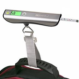 luggage scale hand scales with tape measure