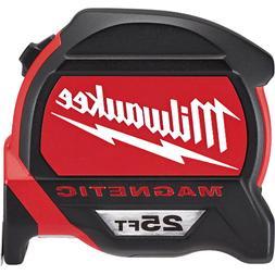 25 Ft. Premium Magnetic Tape Measure Milwaukee Tape Measures