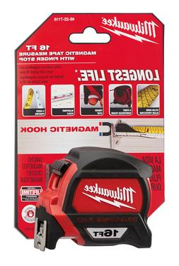 16 Ft. Premium Magnetic Tape Measure Milwaukee Tape Measures