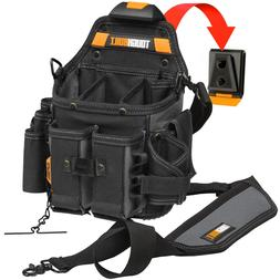 ToughBuilt - Pouch + Shoulder Strap, Adjustable Flashlight H