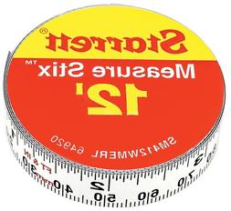 Starrett Measure Stix SM412WMERL Steel White Measure Tape wi