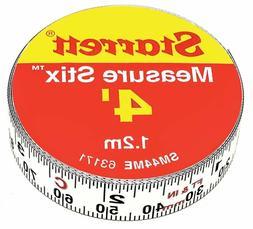 Starrett Measure Stix Sm44Me Steel White Measure Tape With A