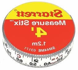 Starrett Measure Stix SM44ME Steel White Measure Tape Englis