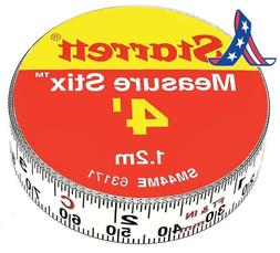 Starrett Measure Stix Sm44Me Steel White Measure Tape With A