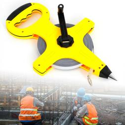 Measuring Tape 100m Carbon high steel Reel Building Surveyin