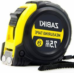 Measuring Tape 7.5M, 25MM retractable Metric Professional Ru