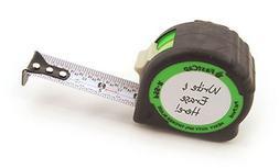Measuring Tape Easy Read Fractions Built In Pencil Sharpener