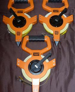 MEASURING TAPE REELS Keson Lot/6 For Contractors Landscapers