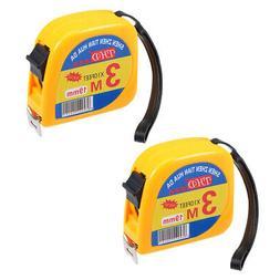 Measuring Tape Retractable 9.8Ft 3 Meters Metric Tape Measur