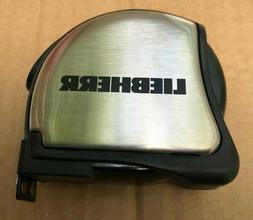 Metric Tape Measure - Stainless Steel - 3 Meter - Belt Clip