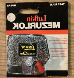 Lufkin Metric Tape Measure Mezurlok 3 Meter Y923M 12mm Wide