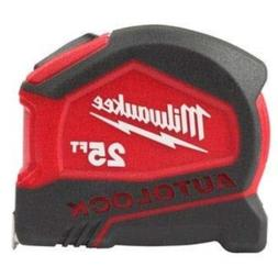 Milwaukee 48-22-6825 25 Foot Compact Auto Lock Tape Measure