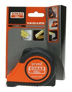 Bahco MTB-5-25-M-E Tape Measure Deluxe Construction Grade, 1