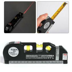 Multi-function Laser Level Ruler Infrared Line Ruler 8ft Acc
