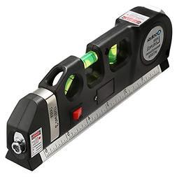 Qooltek Multipurpose Laser Level laser measure Line 8ft+ Mea