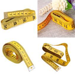 "New 3M 120"" Soft Body Cloth Measuring Ruler Flat Tape Measur"