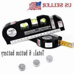 NEW Multipurpose Laser Level Vertical Horizon Measuring Tape