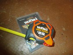 NEW LUFKIN HI-VIZ  25 FT, CONTROL SERIES TAPE MEASURE WIDE B