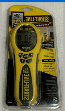 New Strait-Line 50 ft. Sonic Laser Tape Measure