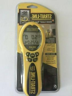 New Strait-Line 50 ft. Sonic Laser Tape Measure *Free Shippi
