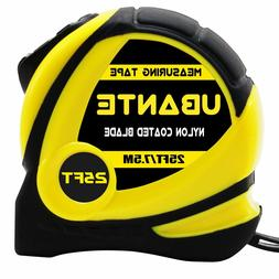 new yellow measuring tape measure 1 inch