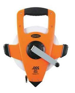 KESON NRS18200 200 ft Tape Measure, 3/8 in Blade