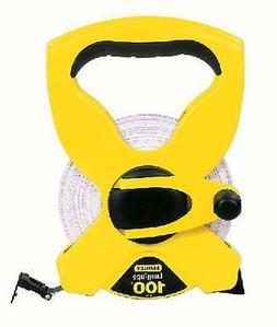 STANLEY CONSUMER TOOLS Open-Reel Tape Measure, Fiberglass, 1