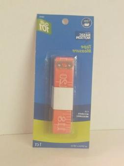 "Orange Dritz 120""  Sewing 3/4"" Tape Measure - Inch & Metric"
